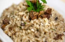 RECEITA: Risoto de Arroz com Quinoa e Cogumelos