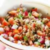 RECEITA: Salada de arroz integral com shimeji